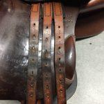 馬具(乗馬鞍)修理 たっ革交換170113KY