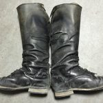 乗馬ブーツ あて革補修・ファスナー交換・ステッチリペア・カラーリペア・オイルメンテナンス160617EK