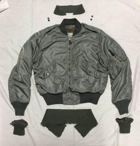 L-2B襟・袖・裾リブ交換 完了200307Y