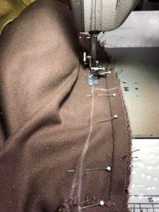 エアロレザースウェードジャケットサイズ直し190521N