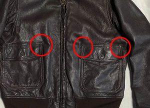 G-1袖裾リブ交換・ステッチ補修 完了190620H