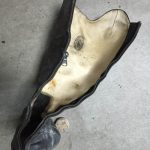 乗馬ブーツ ファスナー修理161002SA